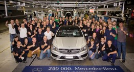 250.000th Mercedes-Benz rolls off the line at Kecskemét Plant