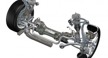 New 4-link front axle in C-Class: more comfort and more dynamics