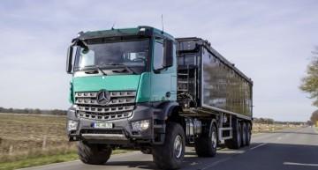 Mercedes Arocs: Construction site offer