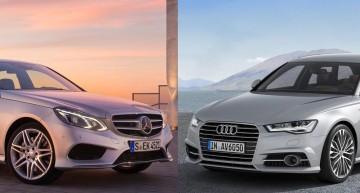 Paris facelift-battle: the Audi A6 responds to Mercedes-Benz E-Class