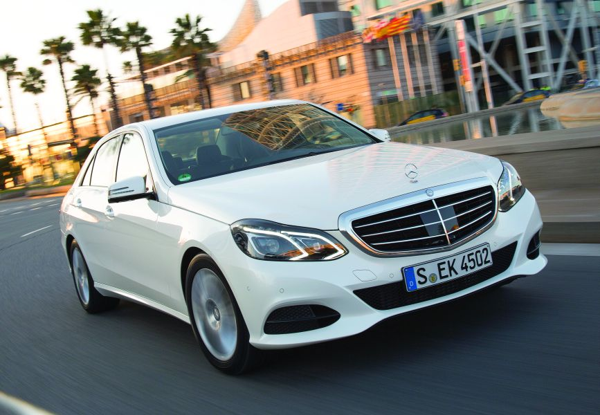Drive test E Class: The most comprehensive facelift in history ...