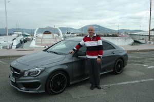 Drive test Mercedes CLA  26