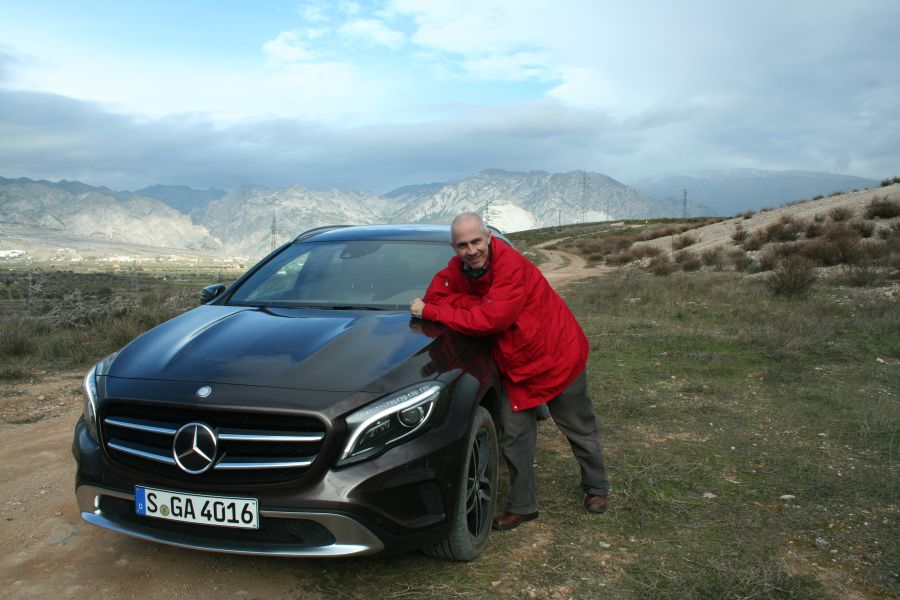 first review mercedes gla: how much of an suv is in the gla