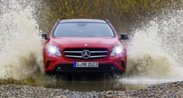 First Review Mercedes GLA: How Much of an SUV is in the GLA?