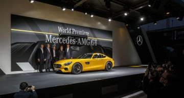 Launch of Mercedes AMG GT (update)
