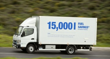 Test drive Canter Fuso Eco Hybrid: Mixed Cultures
