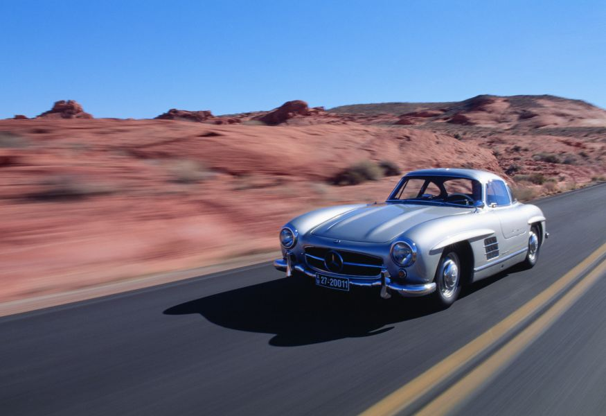 60 years Mercedes 300 SL: the Eternity-Generating Star