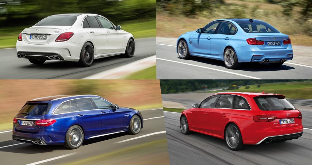 Mercedes-AMG C63 vs BMW M3 vs Audi RS4 - poweri- mercedesblog