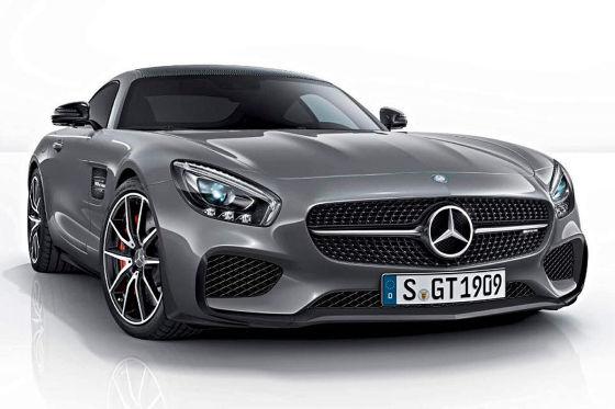 Mercedes-AMG GT Edition 1 - 2014 Paris Motorshow - front- mercedesblog
