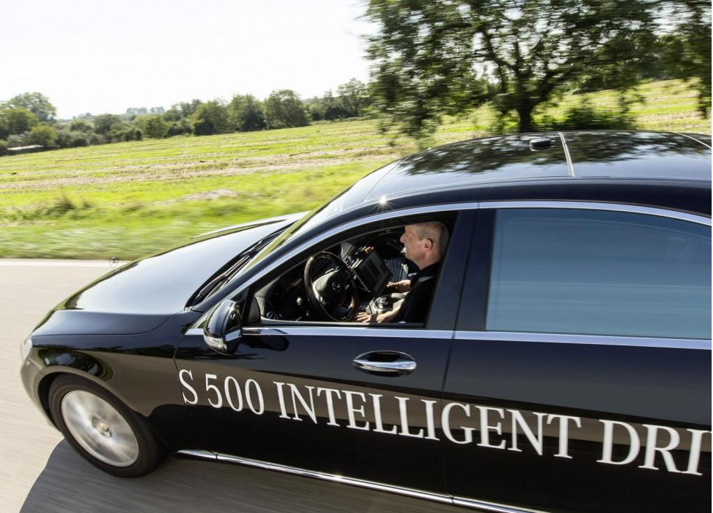 Mercedes-Benz Autonomous Car License in California 1- mercedesblog