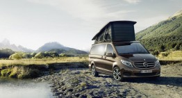 New V-Class Marco Polo: the outdoor office