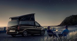 Camping in Portugal with the Mercedes-Benz Marco Polo