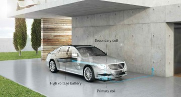 In 2016, Mercedes plug-in hybrids and EVs will charge wirelessly
