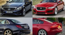 Jaguar XE competes against C-Class