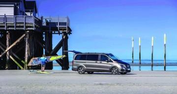 V-Class: the Mercedes of van segment