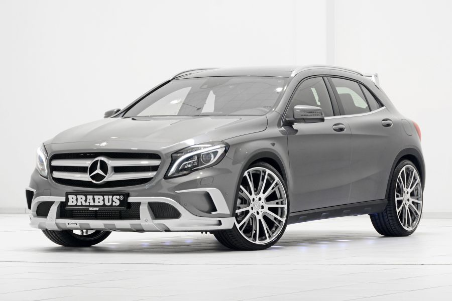 GLA Brabus: up to 400 HP and suspension also for off-road