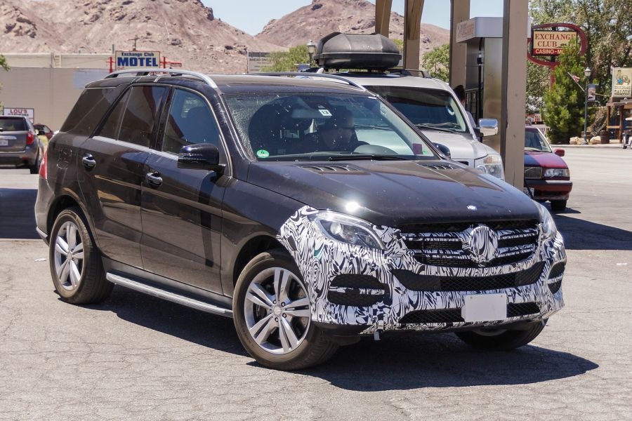 Facelift for Mercedes ML and a new Plug-in hybrid version
