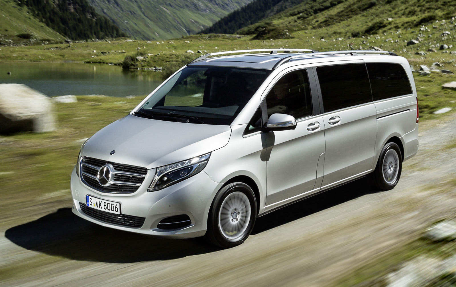 V class 4matic the all wheel drive adds more safety for Mercedes benz top of the line