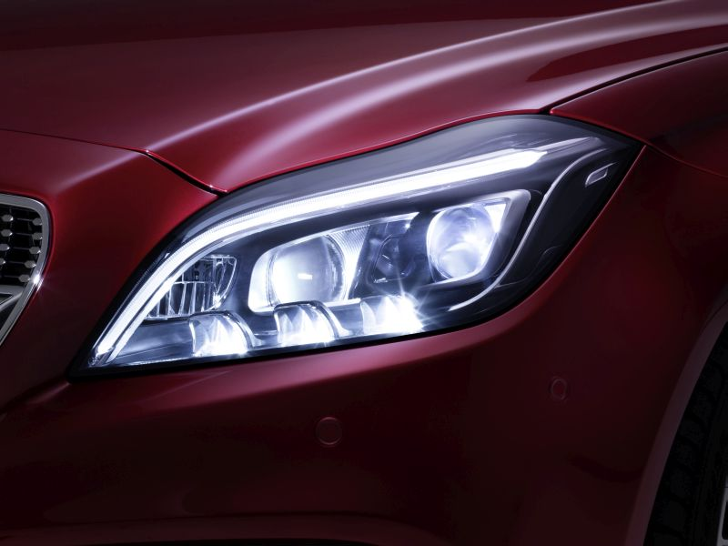 New Multibeam LED headlamps starting in CLS facelift