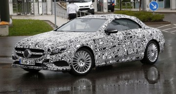 S-Class convertible based on S-Class Coupe