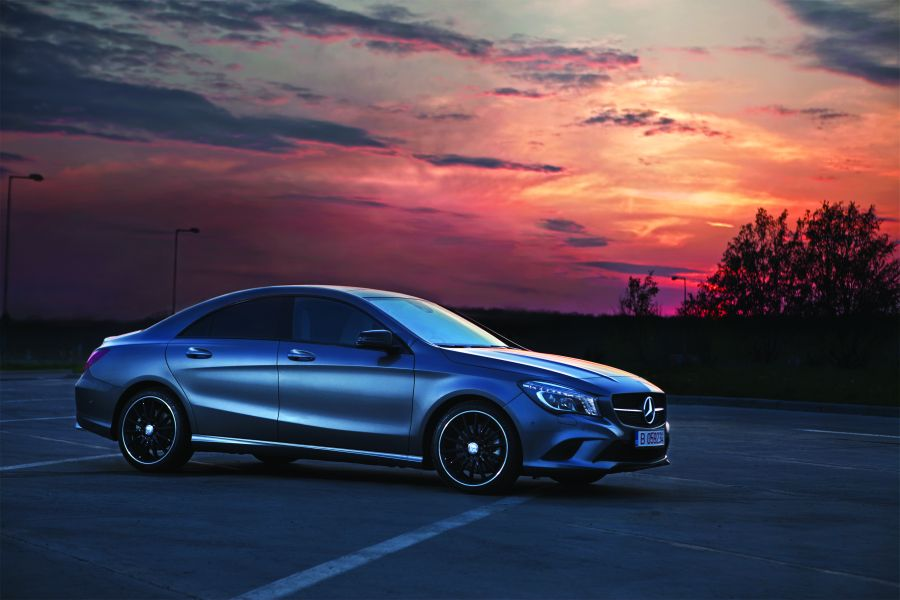 Test drive CLA 250 7G-Tronic: Sightseeing