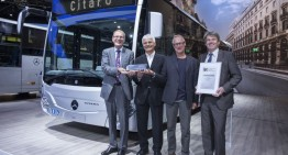 Top seller Mercedes-Benz Citaro receives the IBC award 2014