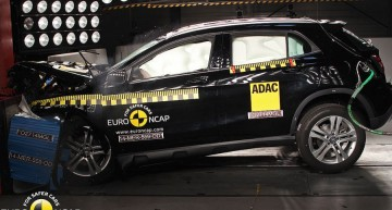 Mercedes–Benz GLA receives 5-star Safety Rating on Euro NCAP tests