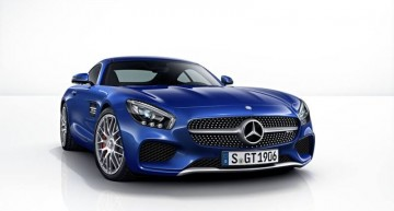 The color palette for Mercedes-Benz AMG GT revealed