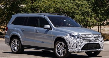 The Mercedes GL Facelift For 2015 Spotted in the US
