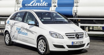 Hydrogen fuelling stations in Germany
