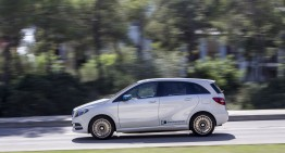 First review of the Mercedes B-Class Electric Drive