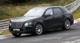 Bentley SUV: A New Competitor for the Mercedes-Benz GL 63 AMG