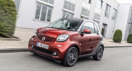 Brabus Gives smart ForTwo a More Powerful Styling