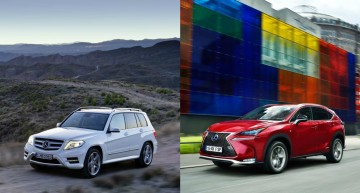 The Lexus NX – A New Rival in the GLK Segment