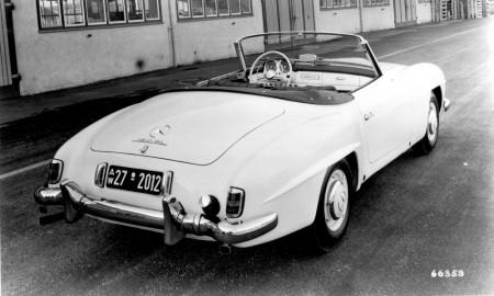 Merc 190 SL 16
