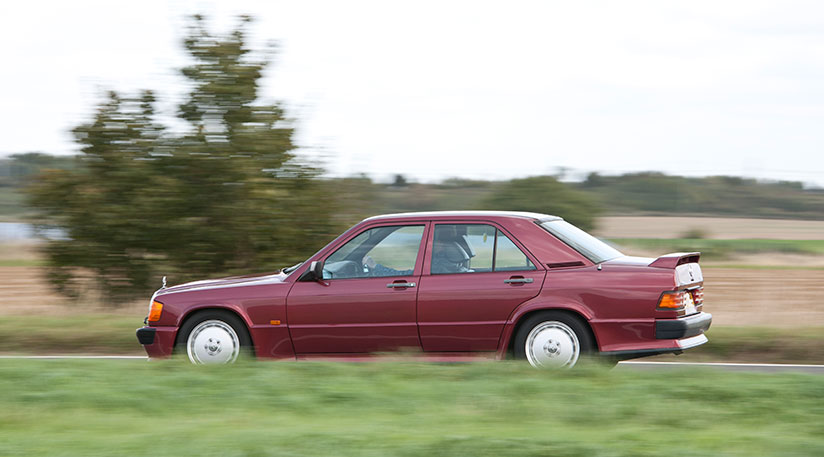 Mercedes 190E 2.5-16 vs BMW M3 E30 1