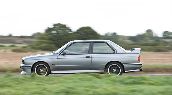 Mercedes 190E 2.5-16 vs BMW M3 E30  5