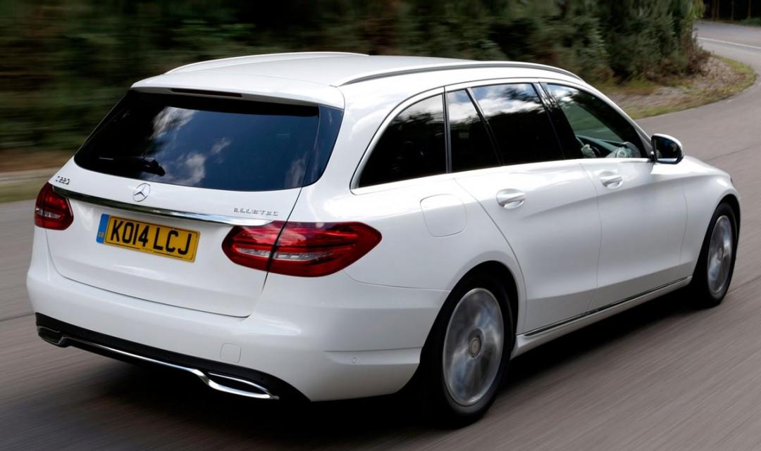Autocar's First Test Drive of C220 Bluetec Estate