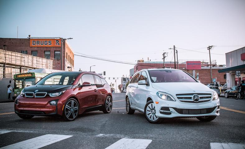 Mercedes-Benz Electric Drive vs BMW i3 - comparison test - Mercedesblog 108