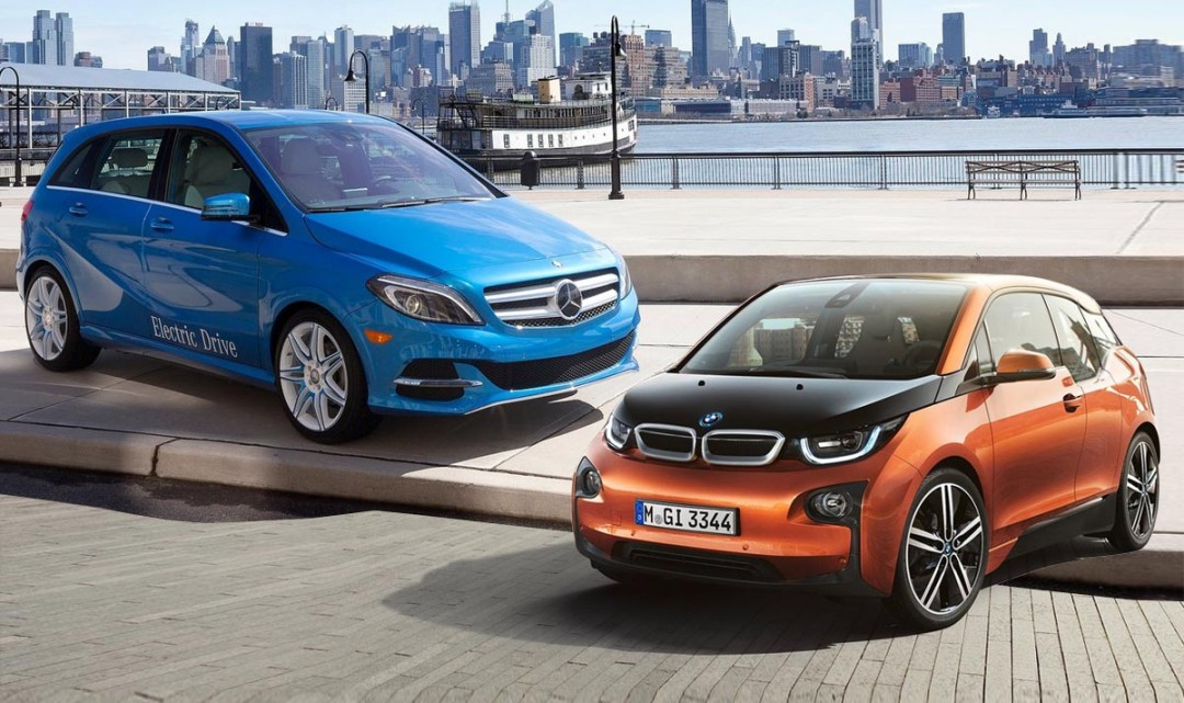 EVs battle: B-Class Electric Drive vs. i3