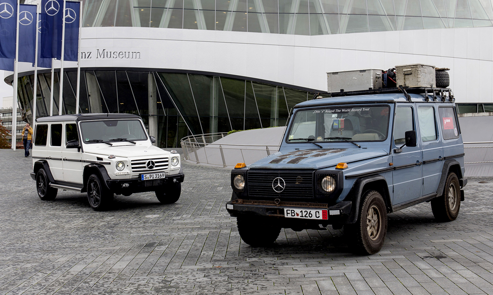 Mercedes G-Class: 35 Years on the Rocks