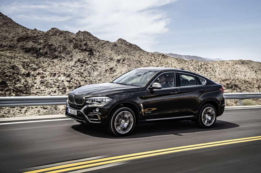 Mercedes MLC vs BMW X6 17