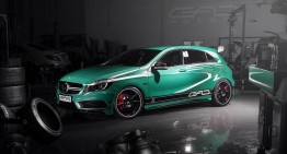Green Menace: A 45 AMG by GAD Motors
