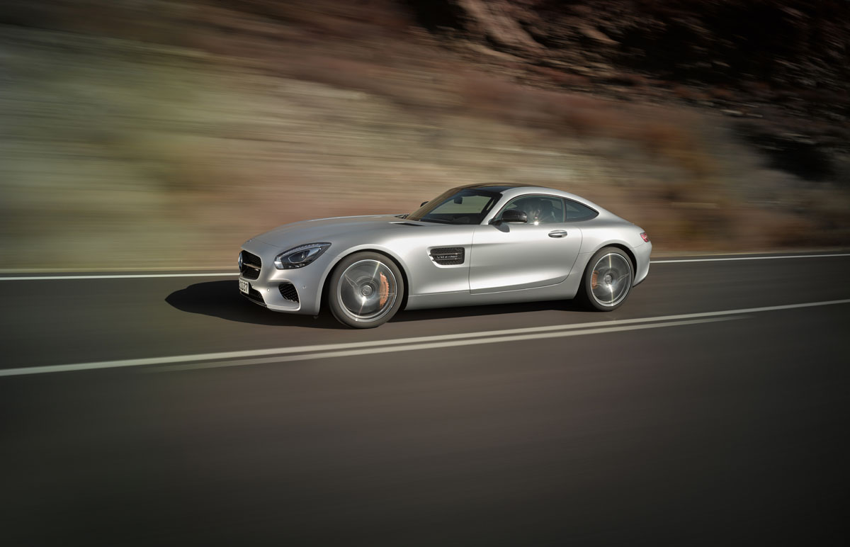 Engine sound Mercedes-AMG GT | MercedesBlog.com