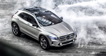 Mercedes-Benz Concept GLA: A New Style of SUV