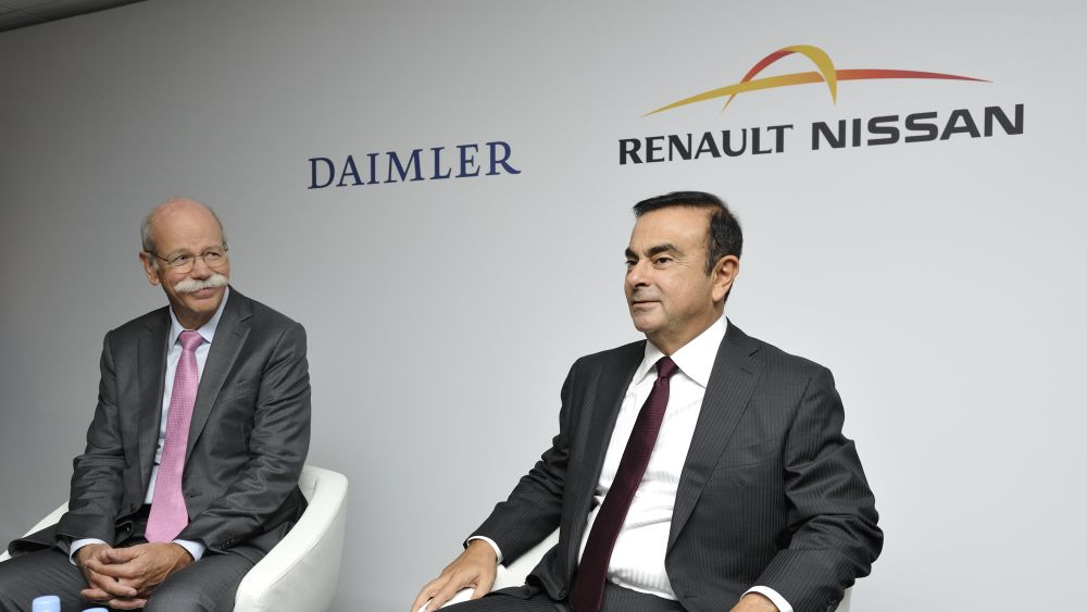 Daimler Will Accelerate Cooperation with Renault-Nissan