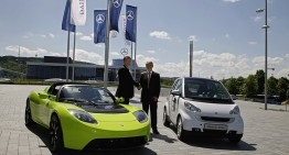 Daimler sells Tesla stake for $780 million