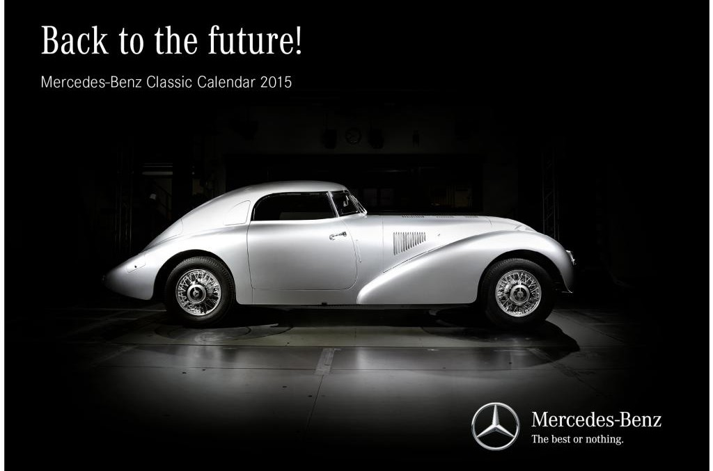 The Mercedes 2015 Calendar: A Mercedes for Each Month