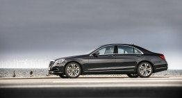 The new S-Class breaks the 100,000 units milestone