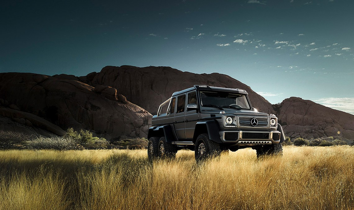 Mercedes G 63 AMG 6X6: Gulliver in the Land of Lilliput